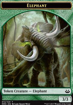 Modern Masters 2017: Elephant Token