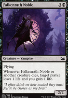 Orzhov Enforcer Ravnica Allegiance Foil Standard Card Kingdom Deathtouch afterlife 1 (when this creature dies, create a 1/1 white and black spirit creature token with flying.) orzhov enforcer ravnica allegiance