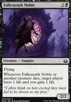 Modern Masters 2017 Foil: Falkenrath Noble