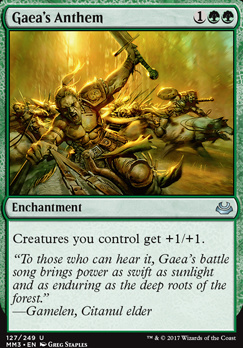 Modern Masters 2017 Foil: Gaea's Anthem