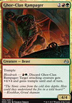 Modern Masters 2017 Foil: Ghor-Clan Rampager