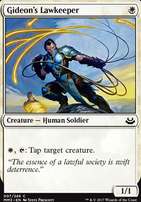 Modern Masters 2017 Foil: Gideon's Lawkeeper
