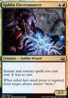 Modern Masters 2017 Foil: Goblin Electromancer