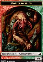 Modern Masters 2017: Goblin Warrior Token