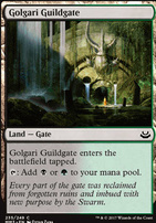 Modern Masters 2017 Foil: Golgari Guildgate