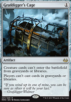 Modern Masters 2017 Foil: Grafdigger's Cage