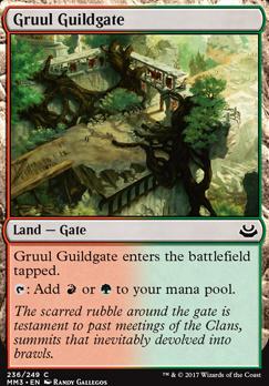 Modern Masters 2017 Foil: Gruul Guildgate