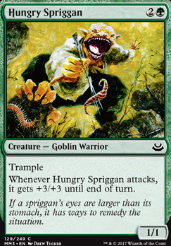 Modern Masters 2017 Foil: Hungry Spriggan