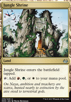 Modern Masters 2017 Foil: Jungle Shrine