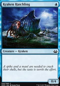 Modern Masters 2017 Foil: Kraken Hatchling