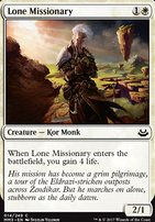 Modern Masters 2017 Foil: Lone Missionary