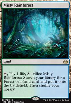 Modern Masters 2017: Misty Rainforest