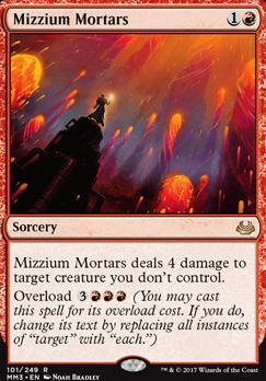 Modern Masters 2017 Foil: Mizzium Mortars