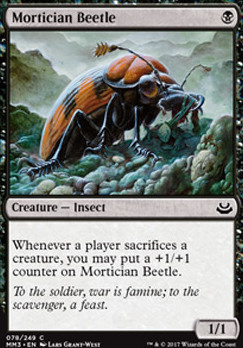 Modern Masters 2017 Foil: Mortician Beetle
