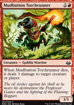 Modern Masters 2017 Foil: Mudbutton Torchrunner