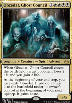Modern Masters 2017 Foil: Obzedat, Ghost Council