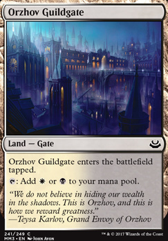 Modern Masters 2017 Foil: Orzhov Guildgate