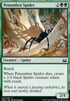 Modern Masters 2017 Foil: Penumbra Spider