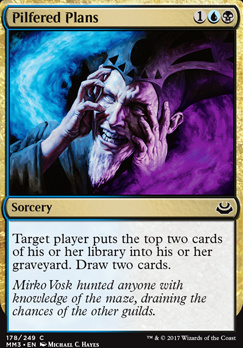 Modern Masters 2017 Foil: Pilfered Plans