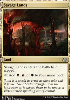 Modern Masters 2017 Foil: Savage Lands
