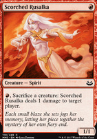 Modern Masters 2017 Foil: Scorched Rusalka