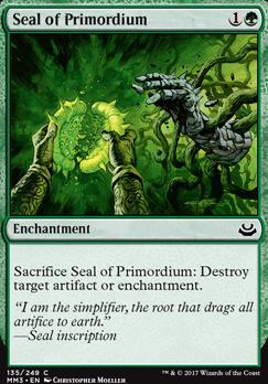 Modern Masters 2017 Foil: Seal of Primordium