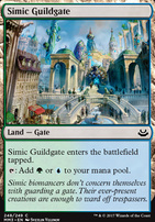 Modern Masters 2017 Foil: Simic Guildgate