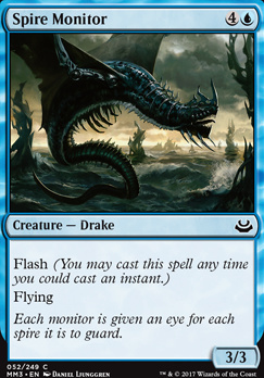 Modern Masters 2017 Foil: Spire Monitor