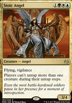 Modern Masters 2017 Foil: Stoic Angel