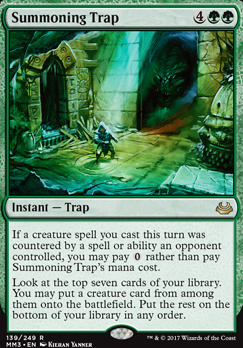 Modern Masters 2017 Foil: Summoning Trap