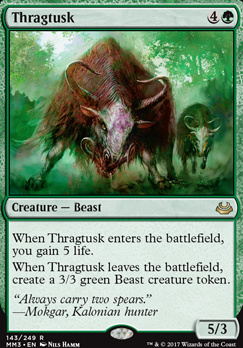 Modern Masters 2017 Foil: Thragtusk