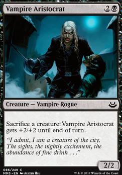 Modern Masters 2017 Foil: Vampire Aristocrat