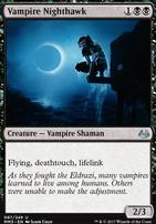 Modern Masters 2017 Foil: Vampire Nighthawk