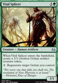 Modern Masters 2017 Foil: Vital Splicer
