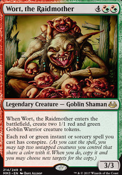 Modern Masters 2017 Foil: Wort, the Raidmother