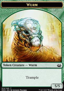 Modern Masters 2017: Wurm Token