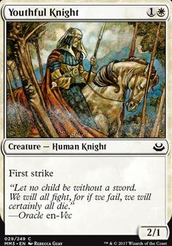 Modern Masters 2017 Foil: Youthful Knight