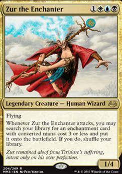 Modern Masters 2017 Foil: Zur the Enchanter