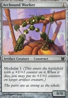 Modern Masters Foil: Arcbound Worker