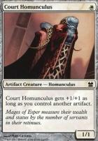 Modern Masters: Court Homunculus