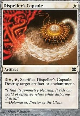 Modern Masters Foil: Dispeller's Capsule