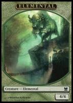 Modern Masters: Elemental Token