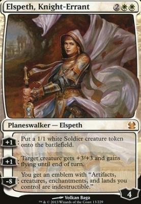 Modern Masters Foil: Elspeth, Knight-Errant
