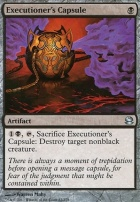 Modern Masters Foil: Executioner's Capsule