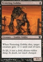 Modern Masters Foil: Festering Goblin