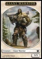 Modern Masters: Giant Warrior Token