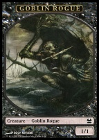 Modern Masters: Goblin Rogue Token