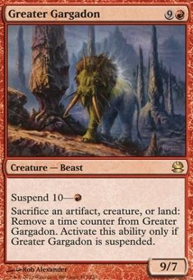 Modern Masters: Greater Gargadon