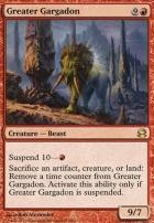 Modern Masters Foil: Greater Gargadon