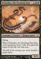 Modern Masters Foil: Kokusho, the Evening Star